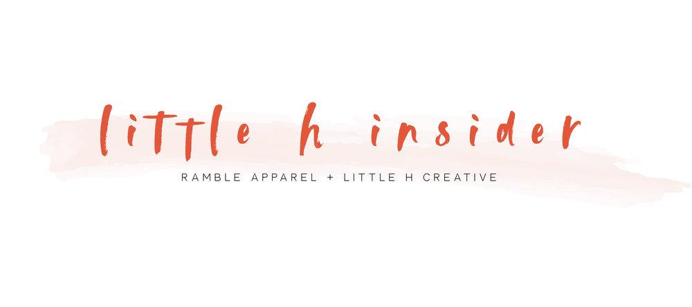 little h insider  // little h creative