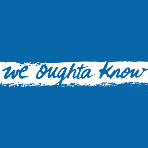 We Oughta Know Logo design