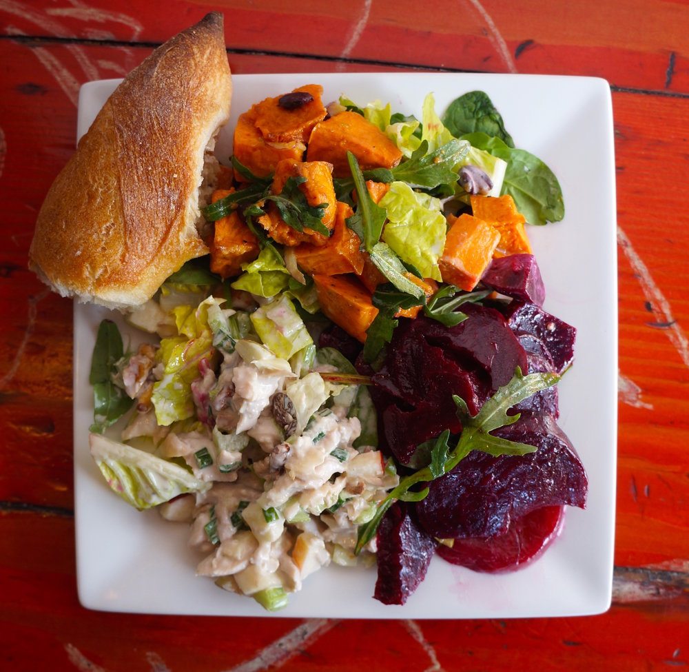 #4 - trio of seasonal salads