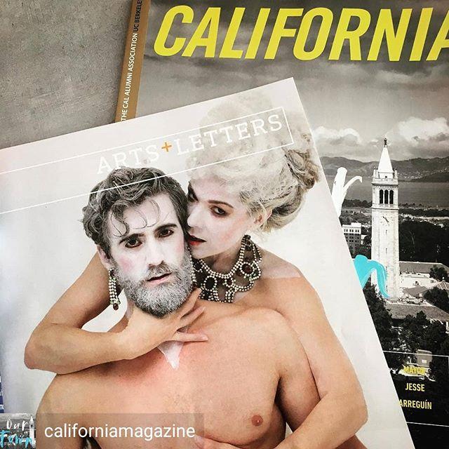 "Pick up a California Magazine and read ""Opera Untucked"" piece by Steve Winn! #gobears #oprra #bayarea"