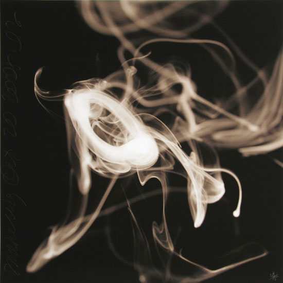 Donald Sultan, Smoke Rings, Digital pigment print, Available in various sizes