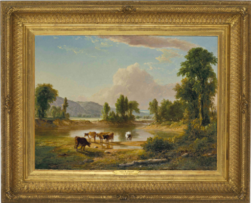 Asher B. Durand, View of Esopus Creek, Ulster County, New York, 1850