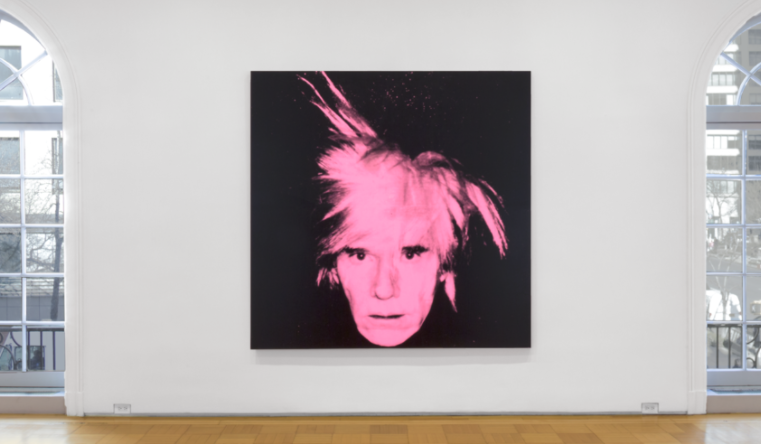 Andy Warhol: Self Portraits (Fright Wigs), Installation view, Skartstedt Gallery (February 23 - April 22, 2017)