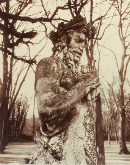 Eugene Atget, Versaille (Faune), 1901, Estimate: $3,000 - 5,000