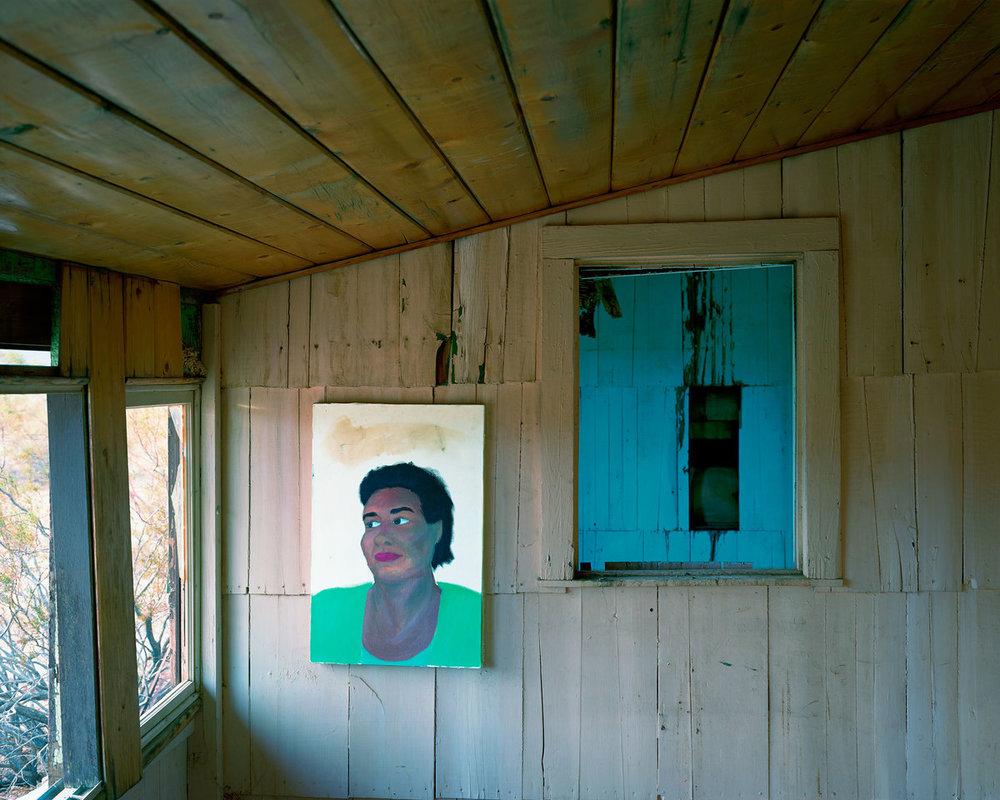 John Divola, Abandoned Painting B, 2007,Whitney Biennial 2017