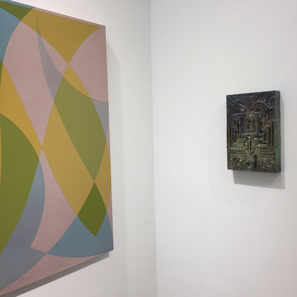 Halsey Hathaway and Julia Kunin, Installation shot, Kristen Lorello Gallery