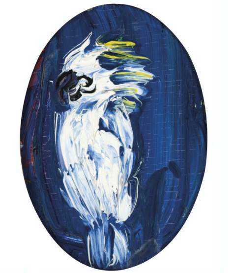Hunt Slonem, Cockatoo (two works), 1995/6, Estimate: $2,000 – 3,000