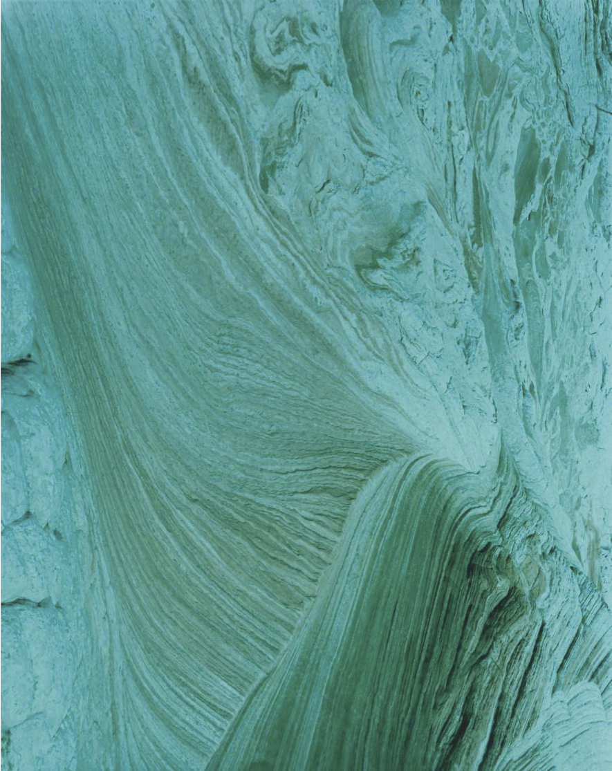 David Benjamin Sherry, Waves of Ocean Acidification, Capital Reef, Utah (For Minor White), 2014