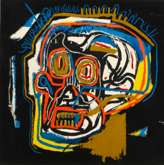 Jean-Michel Basquiat (posthumous print), Untitled (Head), 2001, Estimate: $30,000 - 40,000