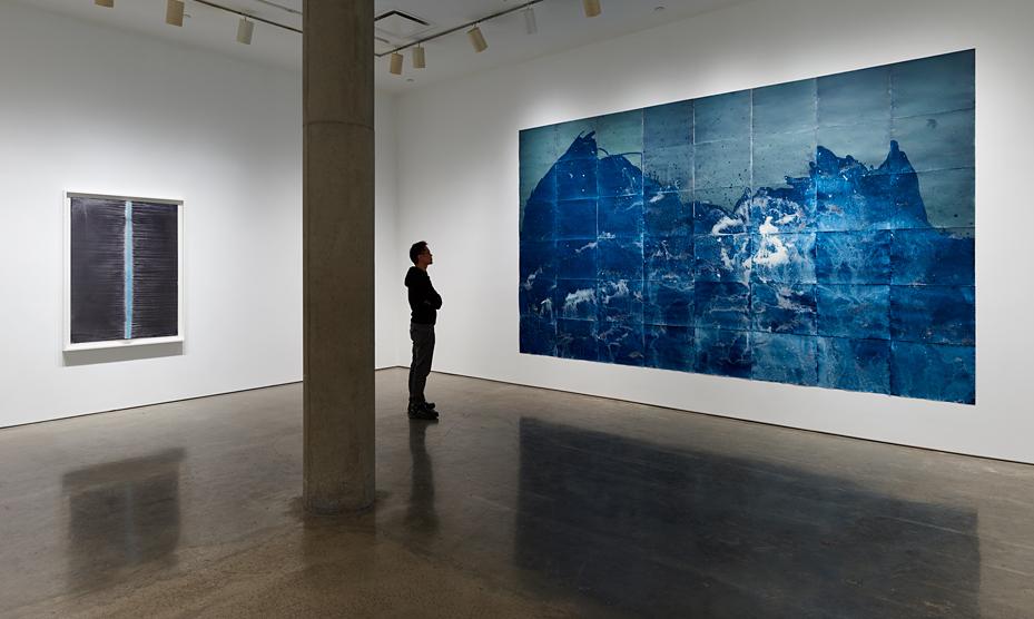 Meghann Riepenhoff, Installation view