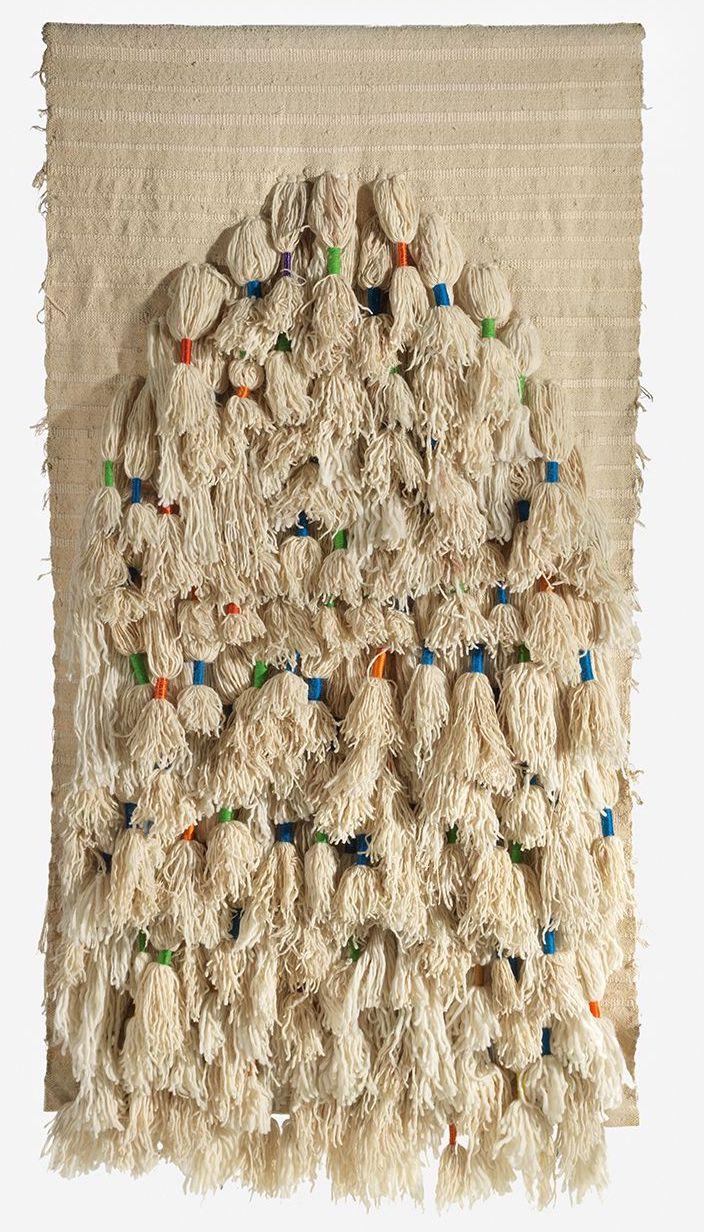 Sheila Hicks, Prayer Rug, 1972, Exhibited by Demisch Danant Gallery
