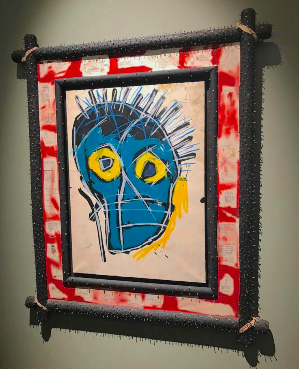 Jean-Michel Basquiat, Untitled, 1983/1987, Wienerroither & Kohlbacher Gallery