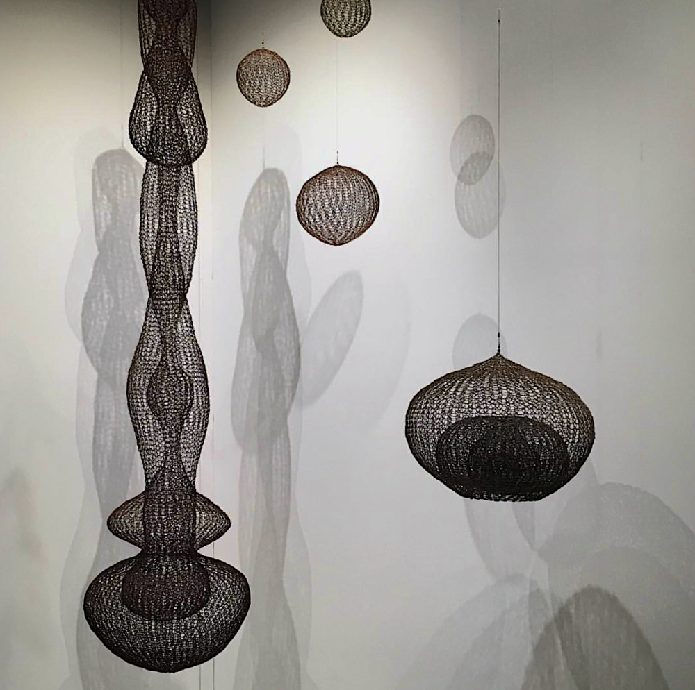 Ruth Asawa, Exhibited David Zwirner Gallery