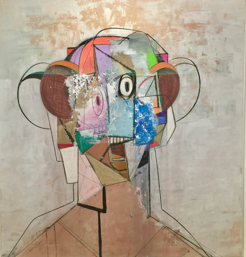 George Condo, The Pilot, 2012, Berggruen Gallery