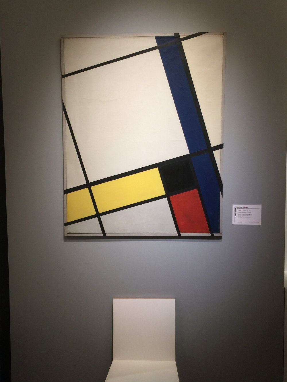 Cesar Domela, Composition neo-plastique no. 45, 1926, Exhibition by Dickinson Gallery