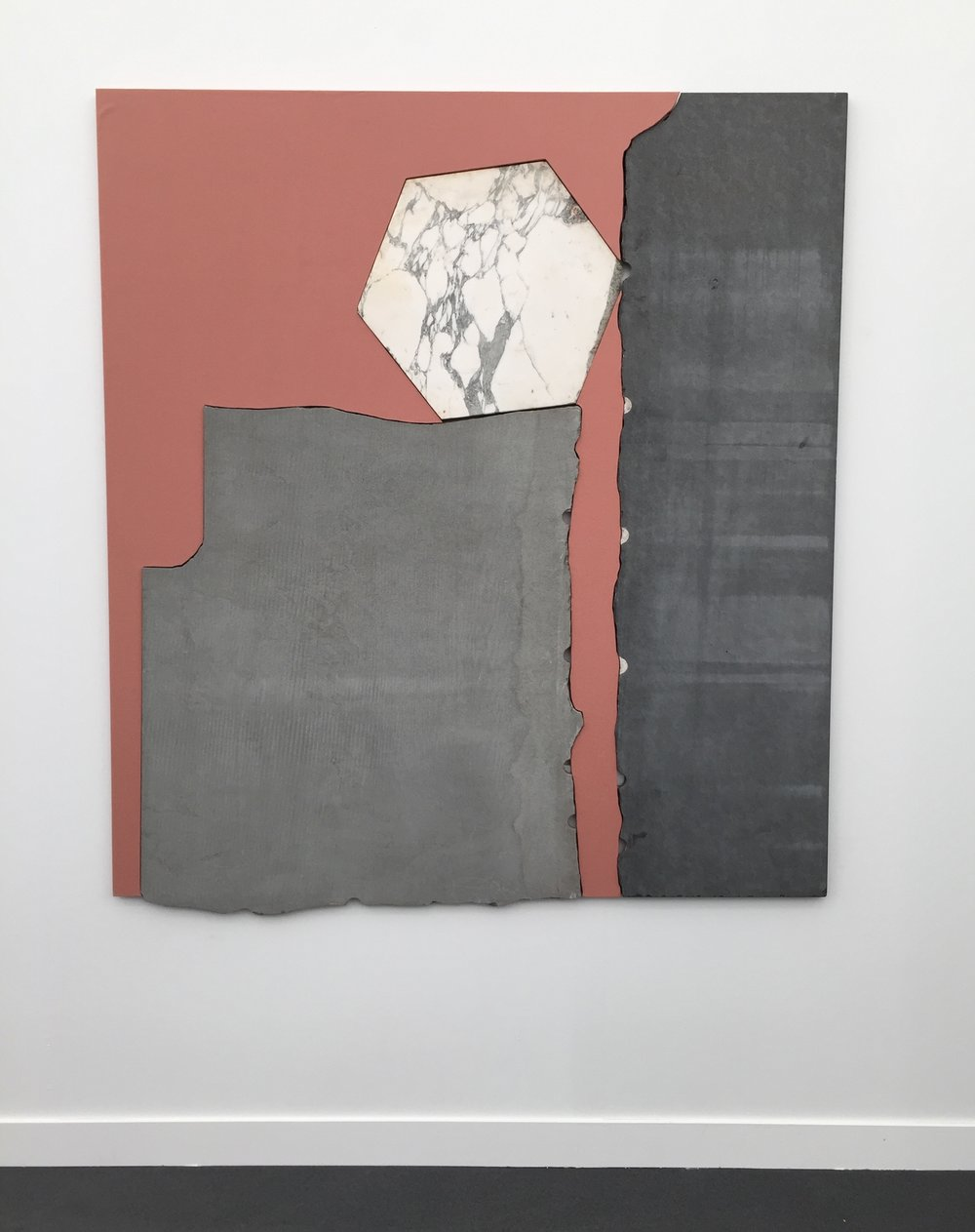 Sam Moyer, Untitled, 2017, Exhibited by Rodolphe Janssen Gallery