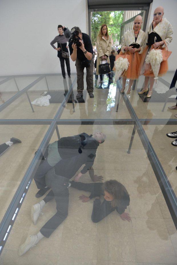 Anne Imhof, Faust, German Pavilion,Venice Biennale, 2017