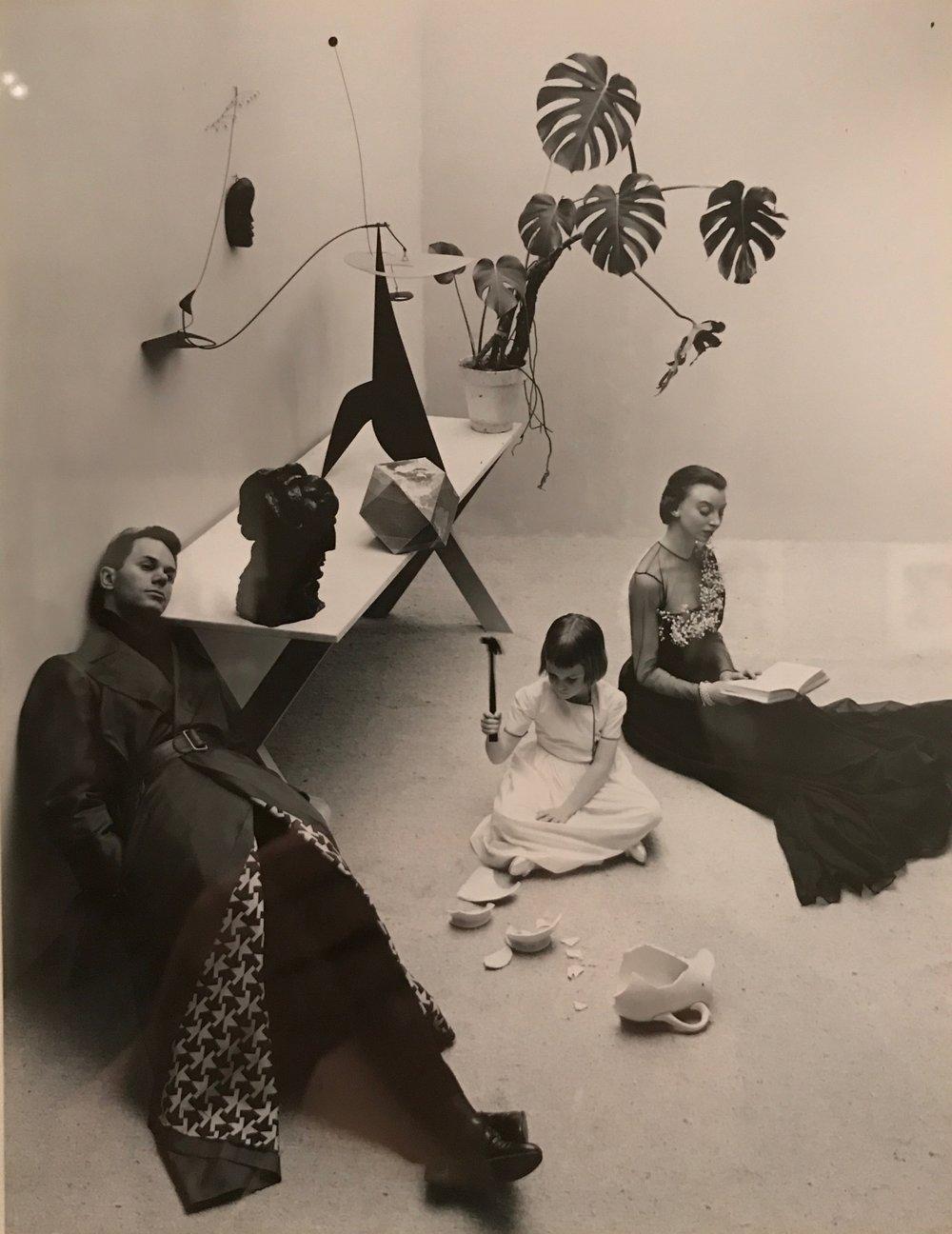 Irving Penn, Modern Family, 1947
