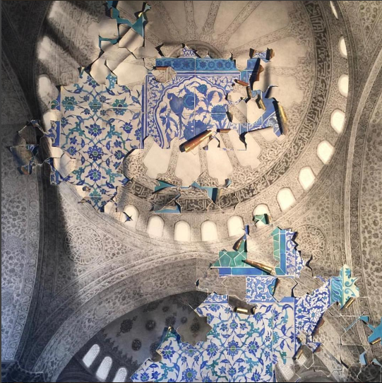 Joseph Stashkevetch, The Blue Mosque, 2017