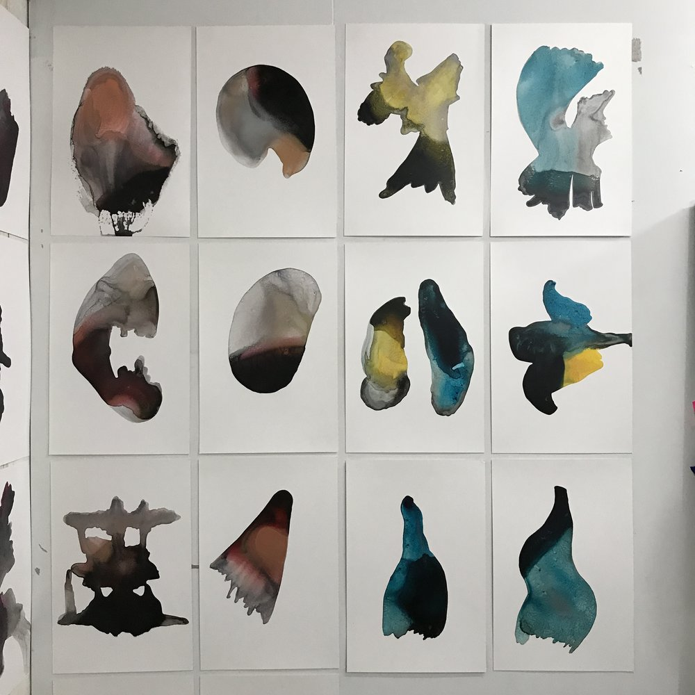 Katherine Duclos, Installation view
