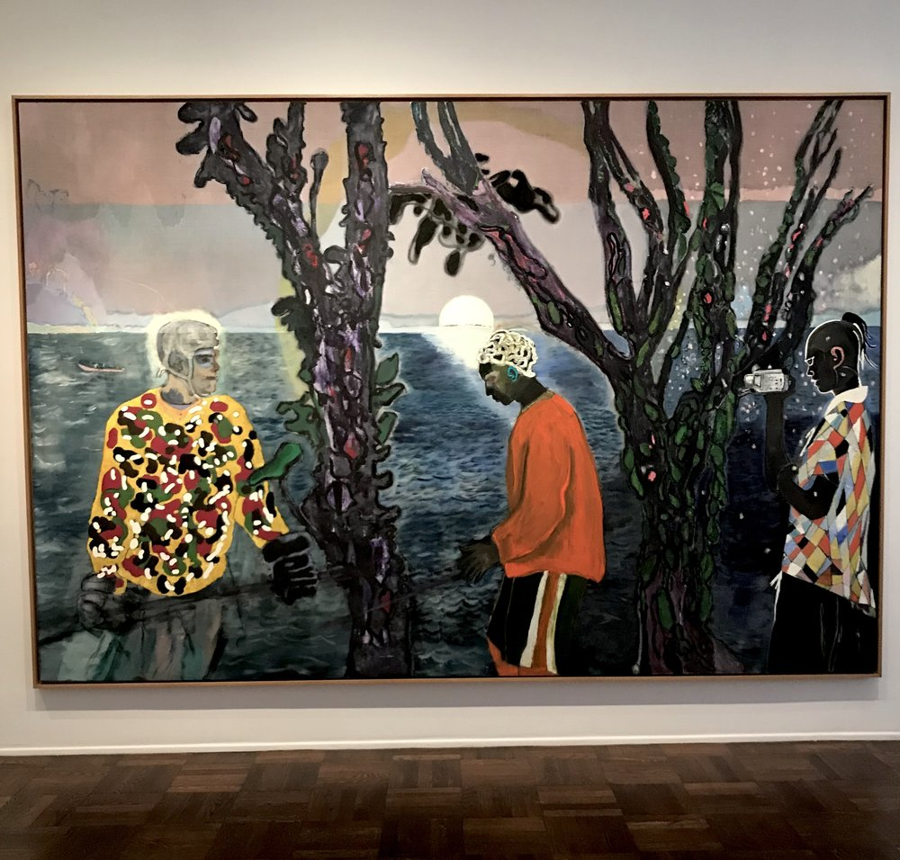 Peter Doig at Michael Werner Gallery