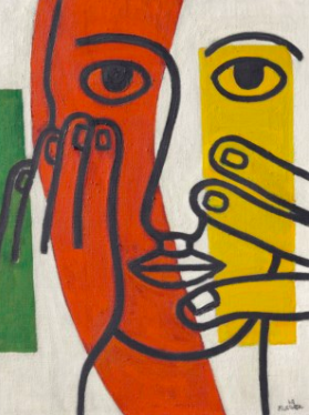 Fernand Leger, Tête de femme (Figure II), 1948 at Christie's Day Sale