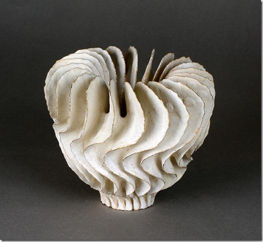 UrsulaMorley Price,White Twist Form,2017