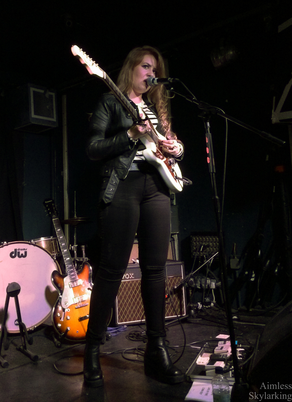 Rebecca Clements at The Old Blue Last