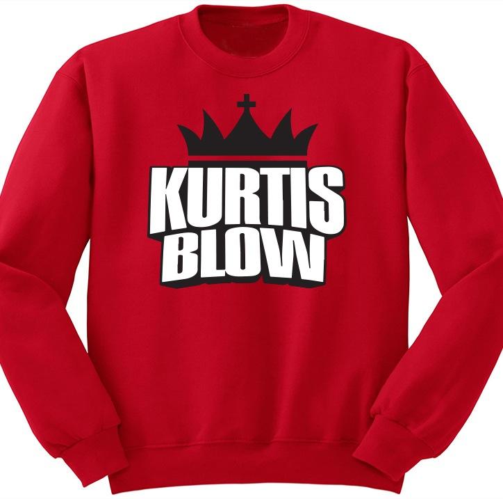Kurtis Blow Logo Crewneck Red
