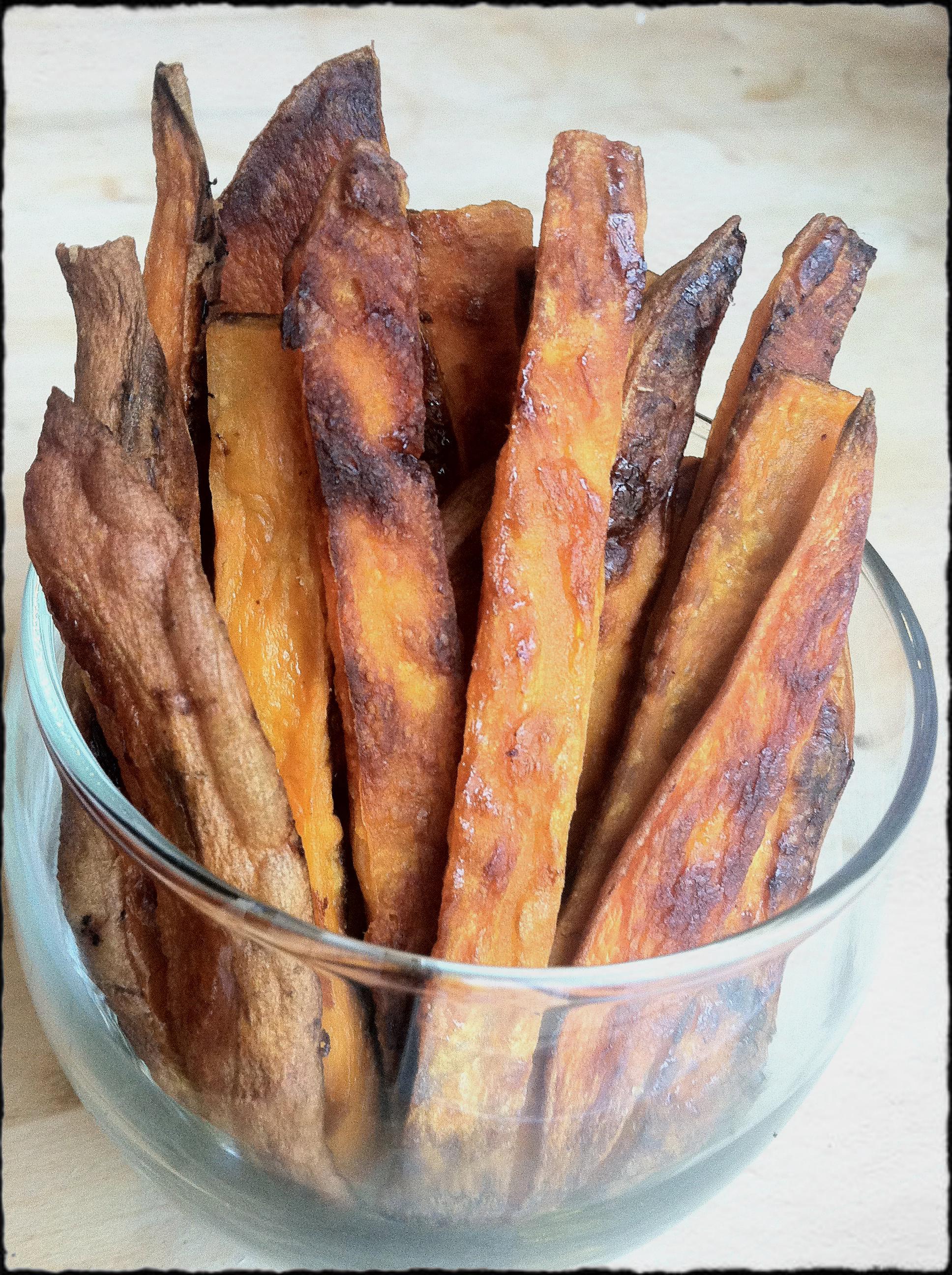 Crunchy Sweet Potato Fries