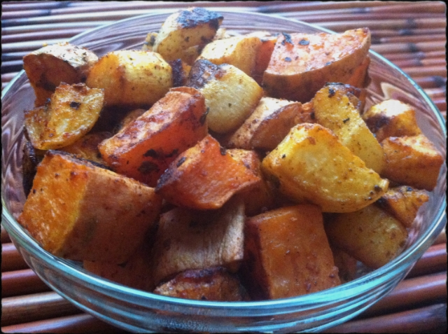 Parsnip, Turnip, &Sweet Potato Home Fries