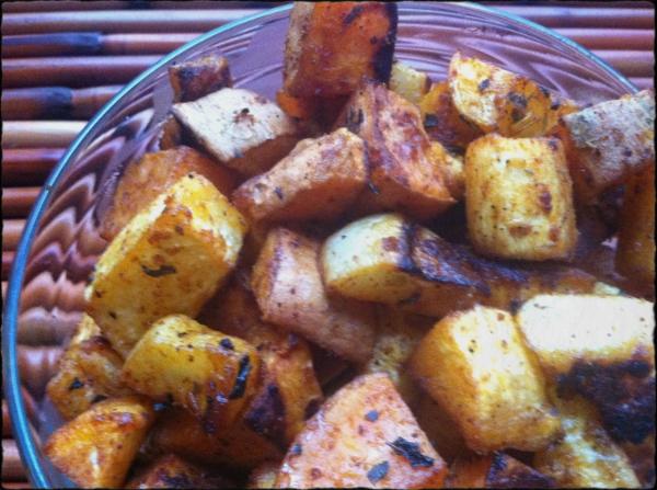 Parsnip, Turnip, & Sweet Potato Home Fries