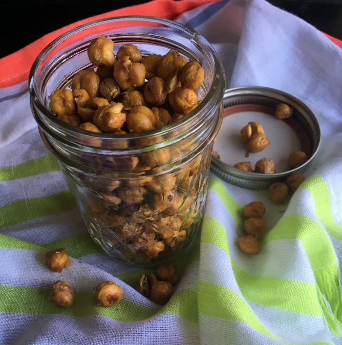 The above chickpeas are from a can!