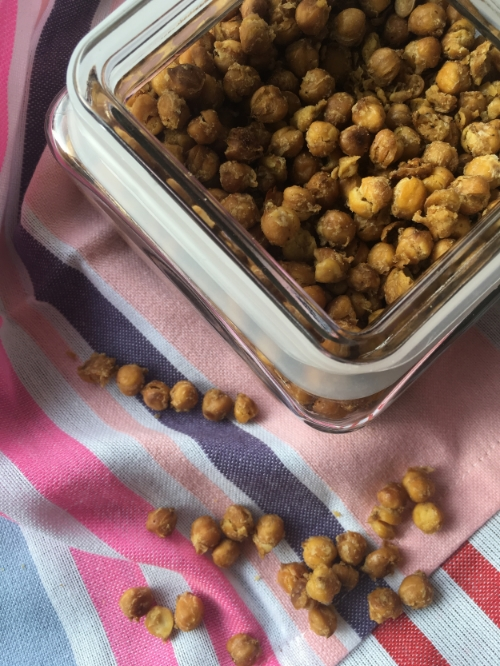 Made using dried chickpeas that I had to soak overnight first!