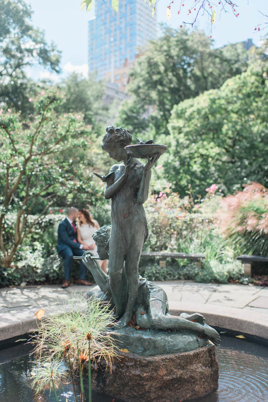 Central Park Conservatory Garden Elopement