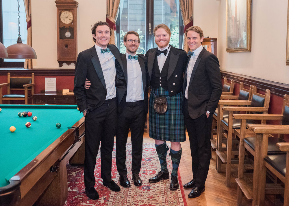 University Club of New York Wedding