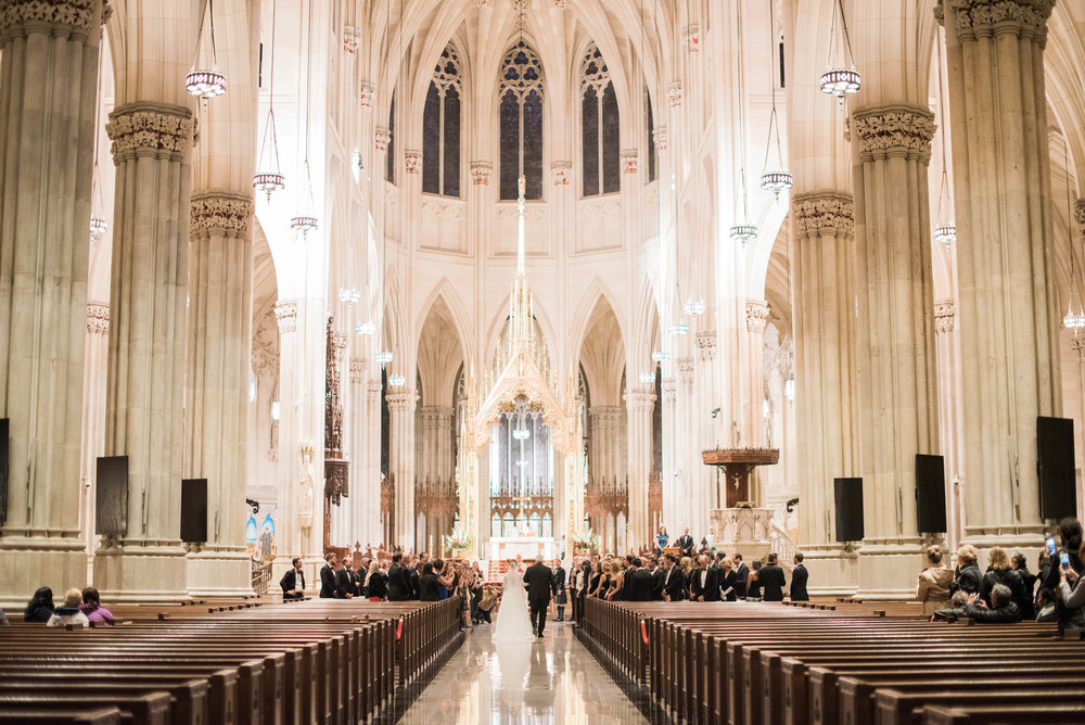 St. Patrick's Cathedral wedding