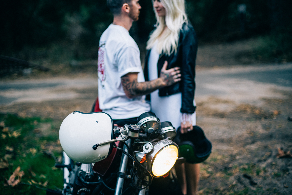 ©Isaiah & Taylor Photography - Destination Wedding Photographers - Downtown Forest Motorcycle Engagement -033.jpg