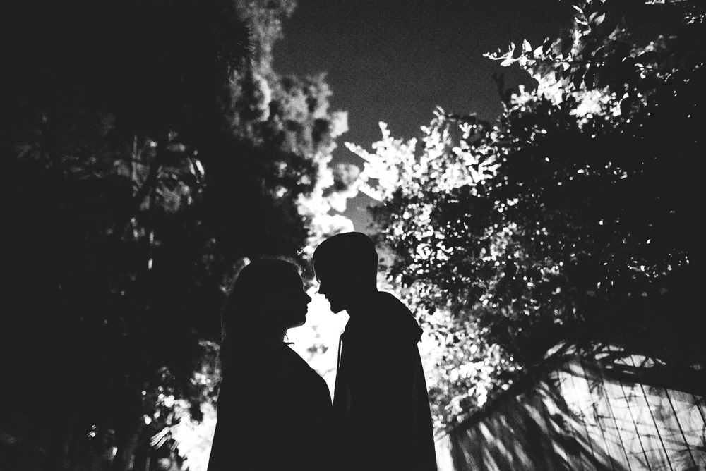 ©Isaiah & Taylor Photography - Los Angeles Engagement - Night Walk-003.jpg
