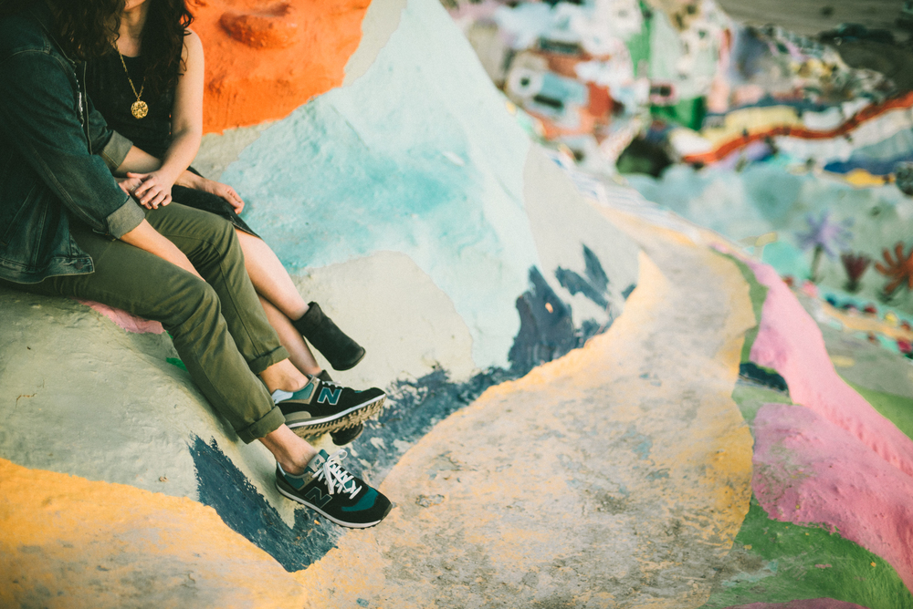 Isaiah & Taylor Photography - Los Angeles - Destination Wedding Photographers - Salvation Mountain, Indo California Desert Engagement-19.jpg