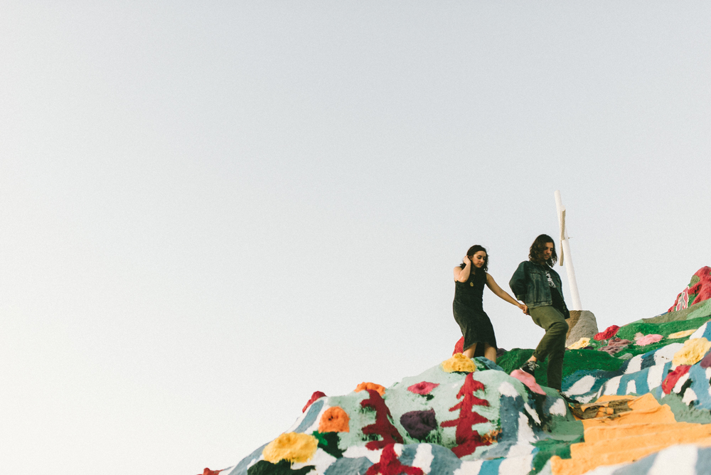 Isaiah & Taylor Photography - Los Angeles - Destination Wedding Photographers - Salvation Mountain, Indo California Desert Engagement-25.jpg