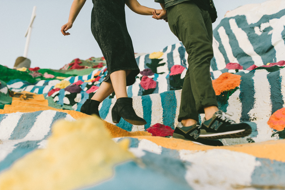 Isaiah & Taylor Photography - Los Angeles - Destination Wedding Photographers - Salvation Mountain, Indo California Desert Engagement-26.jpg