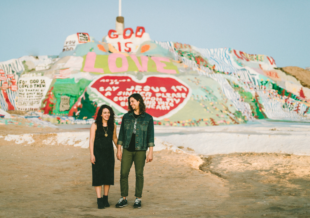 Isaiah & Taylor Photography - Los Angeles - Destination Wedding Photographers - Salvation Mountain, Indo California Desert Engagement-31.jpg