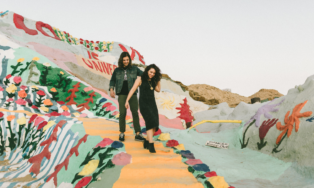 Isaiah & Taylor Photography - Los Angeles - Destination Wedding Photographers - Salvation Mountain, Indo California Desert Engagement-30.jpg