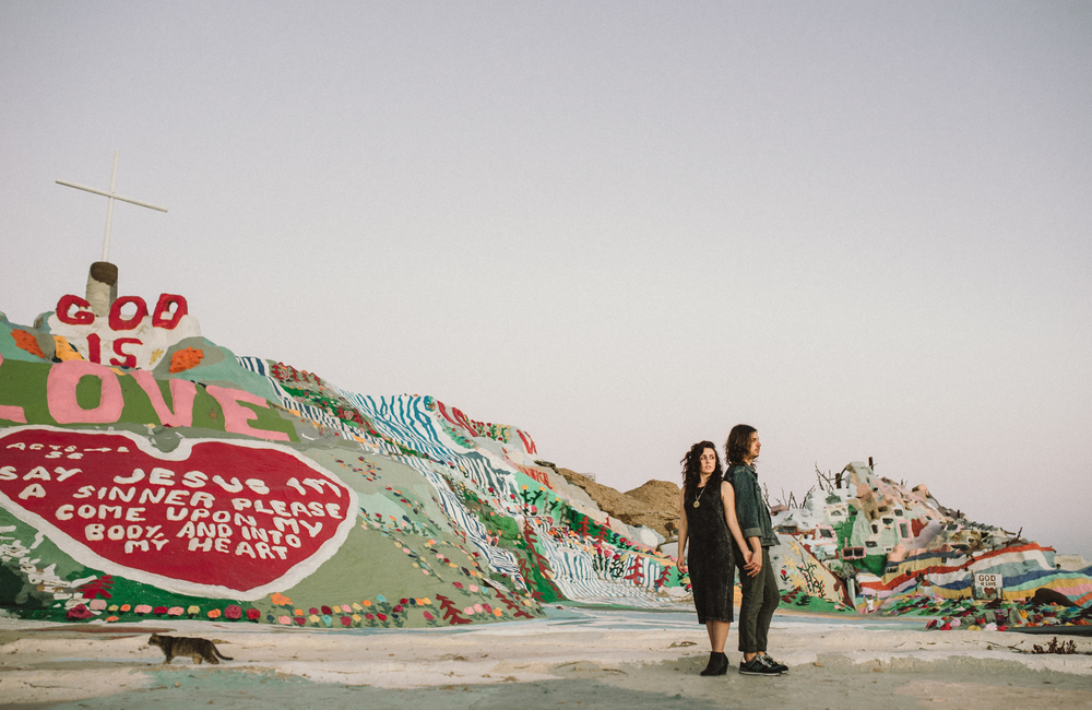 Isaiah & Taylor Photography - Los Angeles - Destination Wedding Photographers - Salvation Mountain, Indo California Desert Engagement-35.jpg