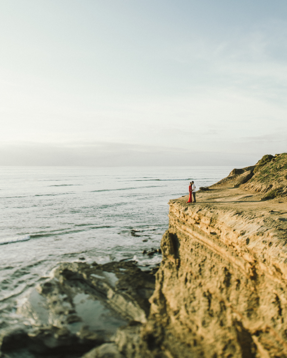 Isaiah & Taylor Photography - Los Angeles - Destination Wedding Photographers - San Diego Sunset Cliffs Beach Adventure Engagement-23.jpg