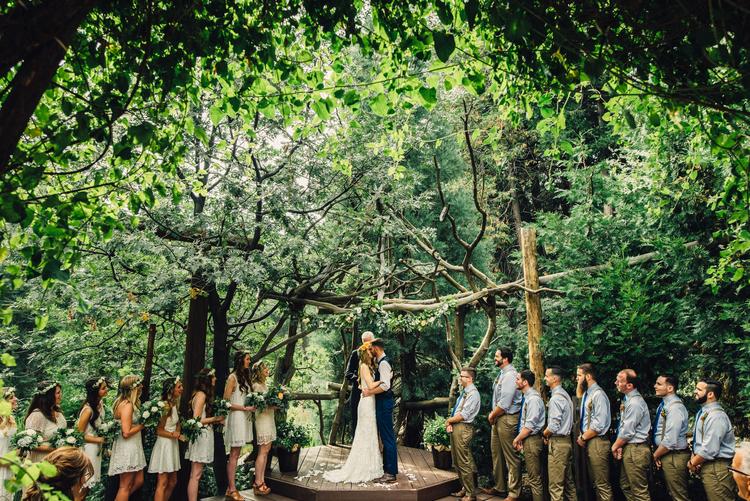 Forest Cabin Wedding Lake Arrowhead Isaiah Taylor Photography
