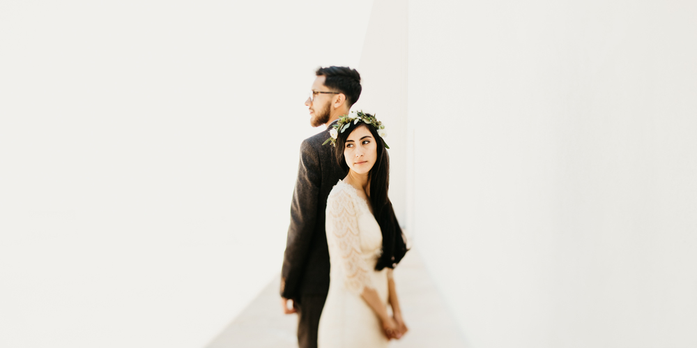 modern wedding photography in Los Angeles