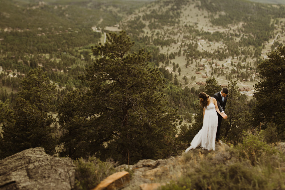 ©Isaiah + Taylor Photography - Estes National Park Adventure Elopement, Colorado Rockies-107.jpg