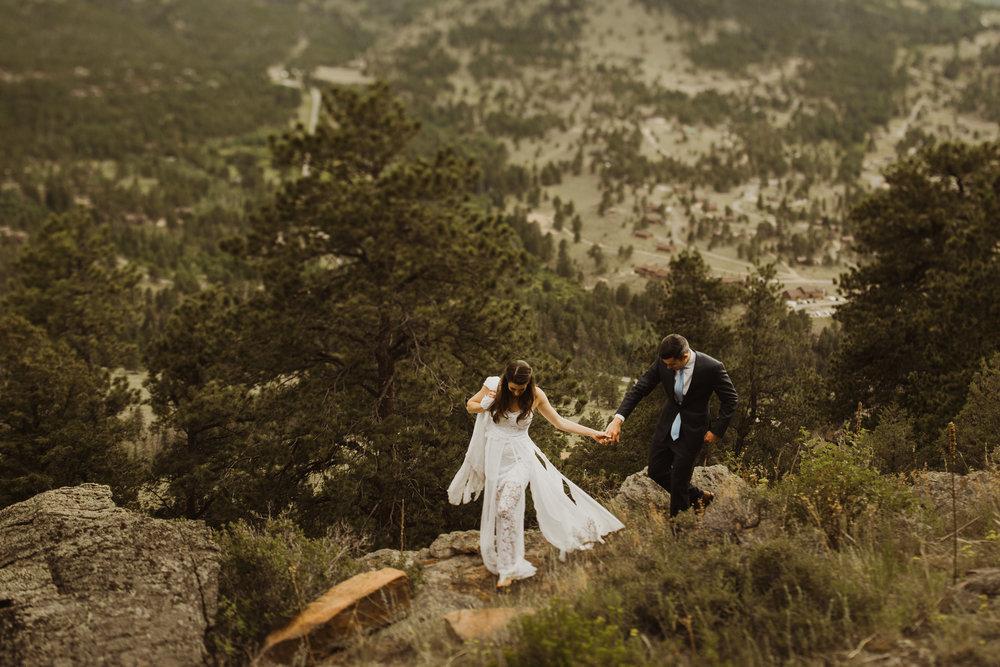 ©Isaiah + Taylor Photography - Estes National Park Adventure Elopement, Colorado Rockies-111.jpg